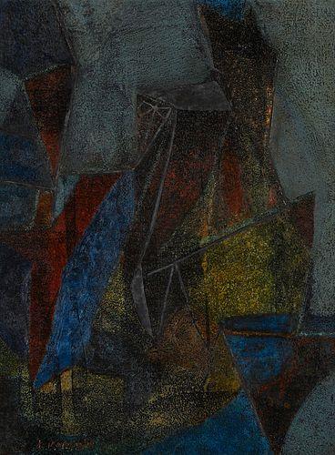 "Thomas Kapsalis ""Composition"" Painting"