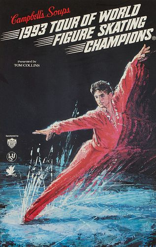 Grp: 2 Campbell's Soup Figure Skating Tour Posters