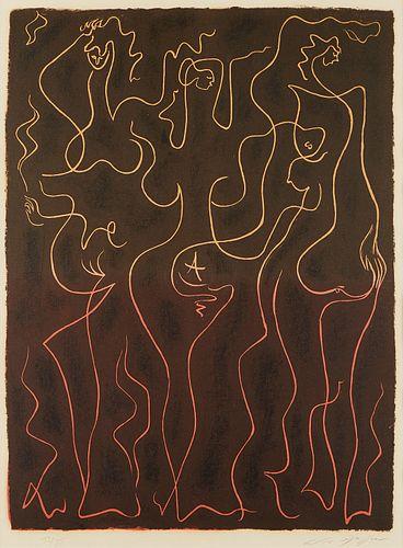 Andre Masson Femmes en Espalier Lithograph