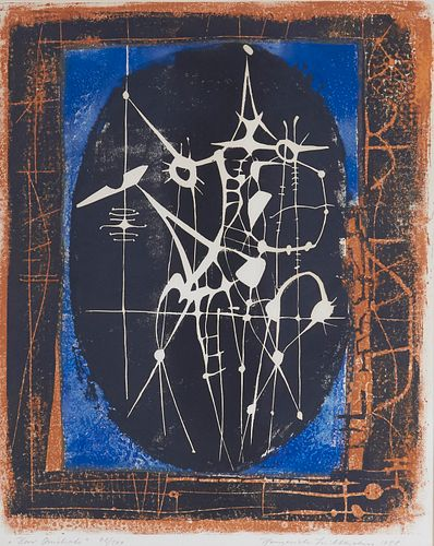 """Heinrich Wilhelm """"Don Quixote"""" Lithograph"""
