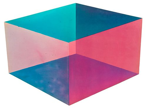 "Ron Davis ""Cube 1"" from ""Cube Series"" Print"