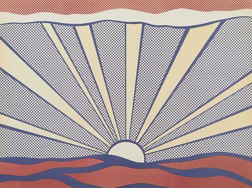 Roy Lichtenstein Sunrise Pop Art Print