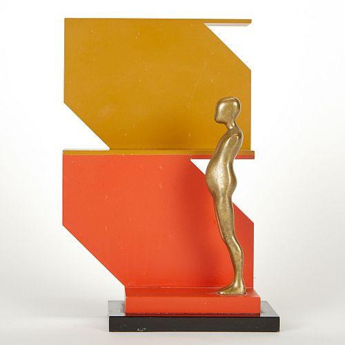 Ernest Trova Falling Man Sculpture Manscape