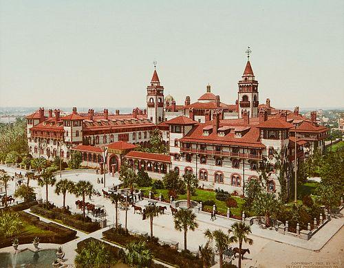 William Henry Jackson/Detroit Photographic Co. The Ponce de Leon St. Augustine