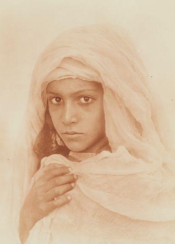 Wilhelm Von Gloeden Photograph Young Girl