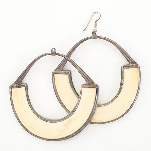 Eveli Sabatie Silver Earrings