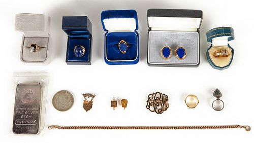 Grp: Jewelry and Coin