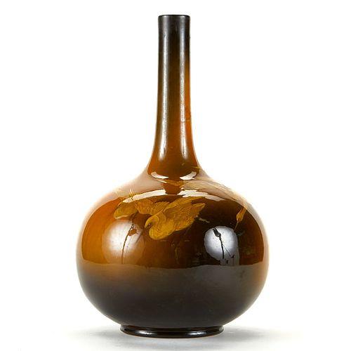 Albert Valentien for Rookwood Crane Vase