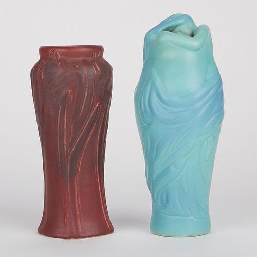Grp: 2 Van Briggle Pottery Vases