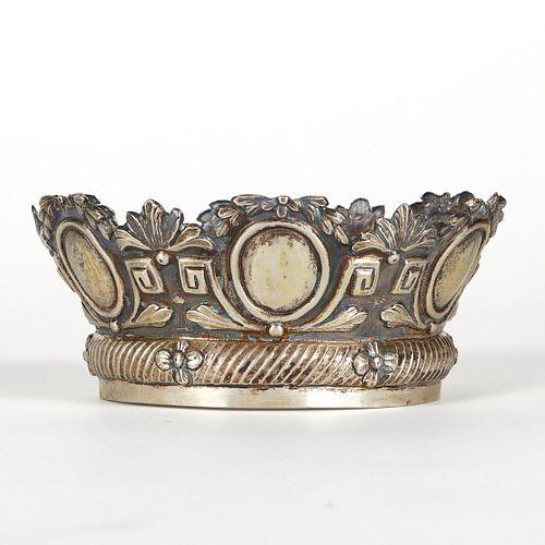 Spanish Colonial Silver Santos Crown