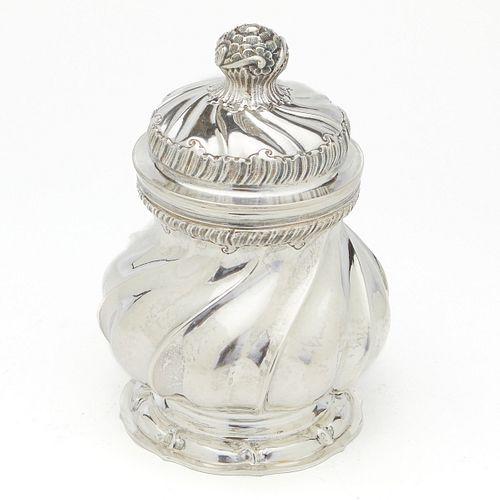 Buccellati Silver Lidded Sugar Bowl