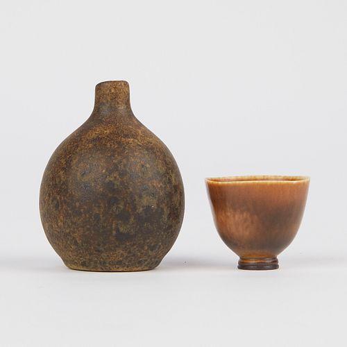 Grp: 2 Scandinavian Ceramics Maigon Daga - Berndt Friberg