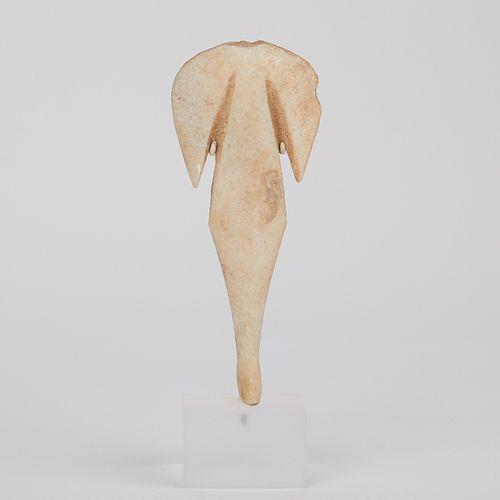 Anatolian Carved Stone Figure w/ Acrylic Base