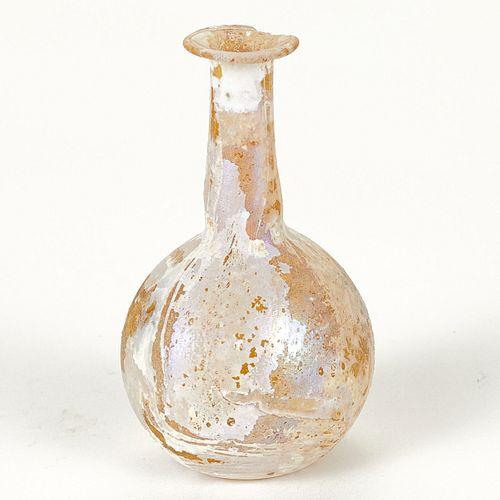 Small Roman Glass Bottle