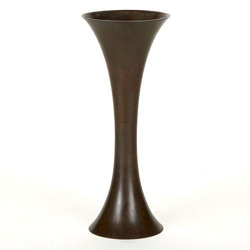 Contemporary Japanese Bronze Vase