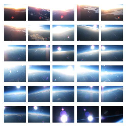 Georgie Friedman, MFA '08 - Flight VI, Ascent III (Flares) (Ed. 3/5)