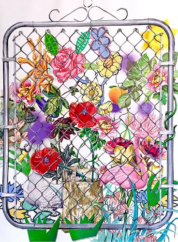 Adam Matak, MFA '15 - Garden Gate (Paradise)