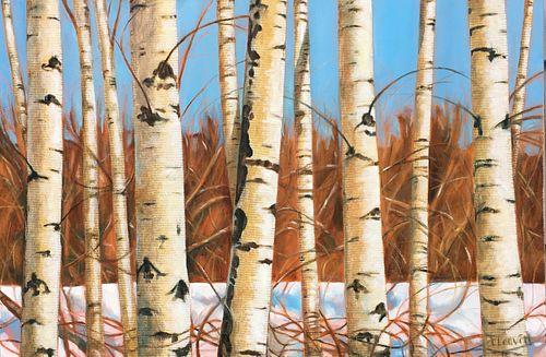 Laurie Leavitt - Maine Birches