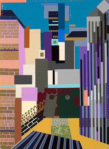 Elizabeth Michelman, Diploma '92 - Color Theory Series (Stuart Davis 11)