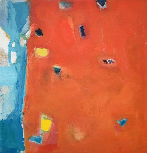 Juni Van Dyke, BFA, '90, Diploma '90, MAT '92 - Red Untitled Painting
