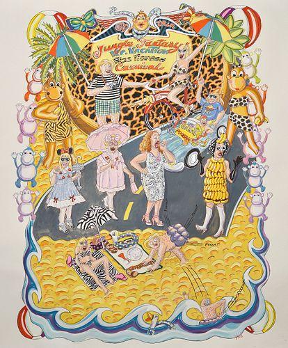 Susan Gilbert, Diploma '81 - Jungle Fantasy