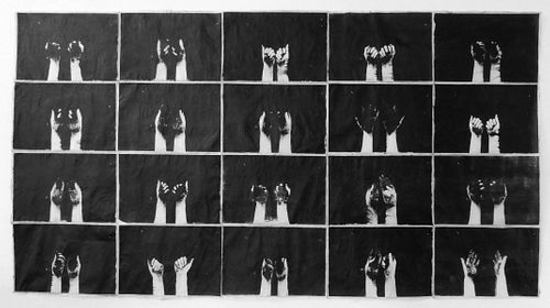 Erin Woodbrey, BFA '07 - Time Being (Hands Forming Soil, Earth Forming Hands)