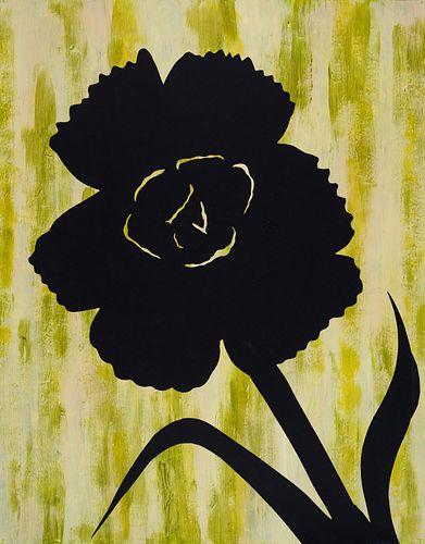 Alston Stoney Conley, Certificate '74, 5th Yr '75, BFA '76 - Carnation Silhouette