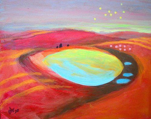 Diane Nelson, Diploma '60 - Desert Twilight
