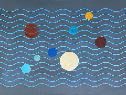 Meryl Blinder, MFA '99 - Space Circles *