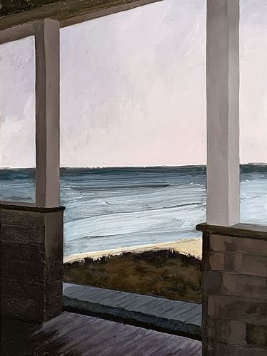 George Lynde, Post Bac '00, 5th Year '01, Porch View