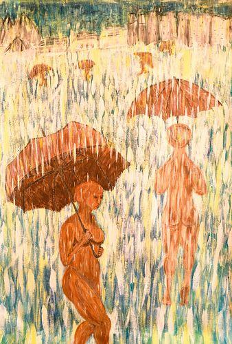 Sarah Kilgallon, Wooden Women in a Sun Storm