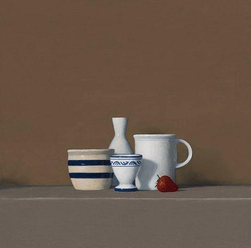 David Harrison, Still Life with Strawberry