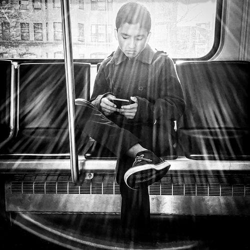 Jerry Russo, BFA, Diploma, 5th year '01, Alone Together Boston Commute #2