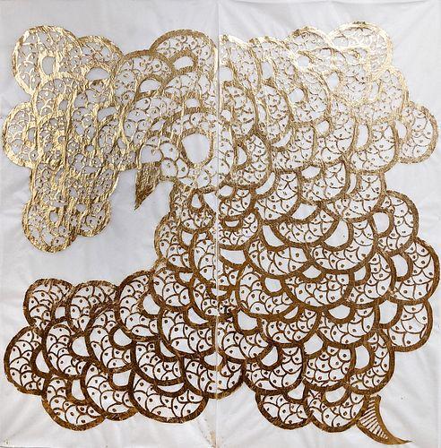 Greg Lookerse, MFA '14, The Golden Cloud of Serpentine