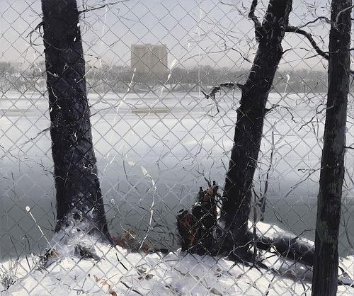 Wilhelm Neusser - Fence/Winter (#2108) *