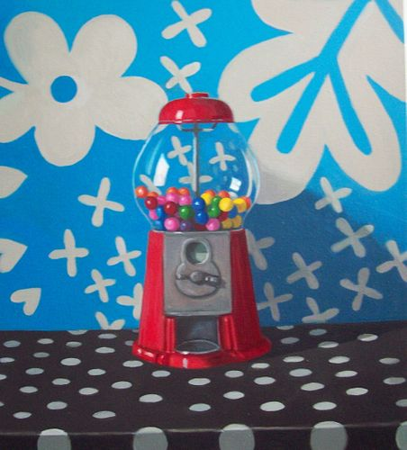 Maureen O'Connor - Gumball Machine with Dots *