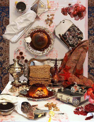 Yahya Gharaozlou, Reflections on a Persian Feast
