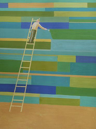 Billy Evans, BFA '77, Painting
