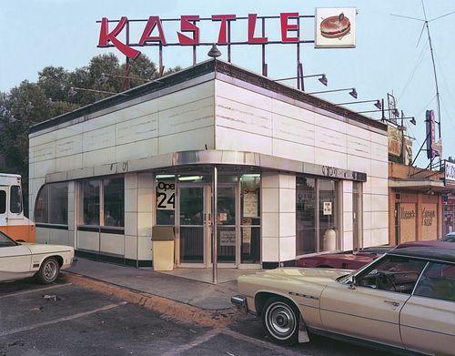 """Jim Dow, The """"Kastle"""" Restaurant. US 61, Metairie,  LA 1978"""