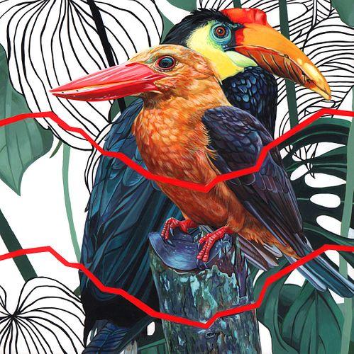 Juan Travieso, MFA '13, Endangered Bird #169