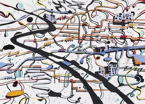 Heidi Whitman, Diploma '80 - Mental Map (67) *