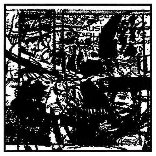 John Schulz, Working Drawing no.12 (Black)