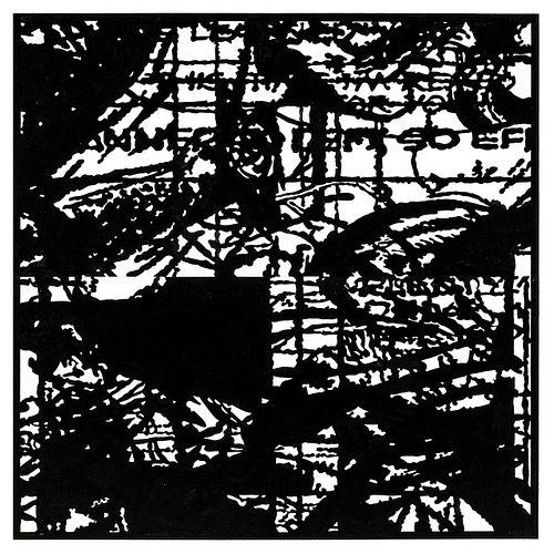 John Schulz, Working Drawing no. 14 (Black)
