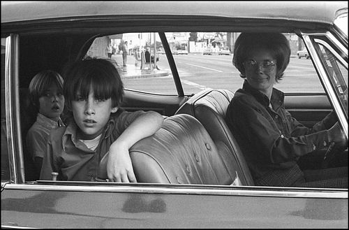 Mike Mandel, MFA '74, People In Cars portfolio 1/6 (20)