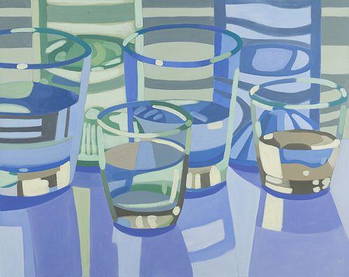 Laura Barr, BA, Tufts University '78, BFA, SMFA '80, Water Glass 1