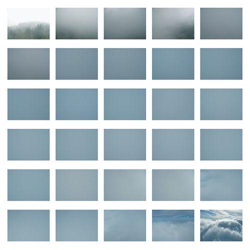 Georgie Friedman , MFA '08, Flight II, Ascent I (Rain Cloud) (Ed. 2/5)
