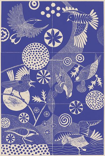 Lisa Houck, Printmaking '89 - Chittering and Chattering *