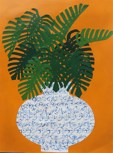 Kate Martens, Combined Degree '09, Plant Portrait: Split Leaf Monstera