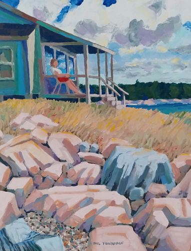 Paul Trowbridge, Diploma '75, Porch Perspective