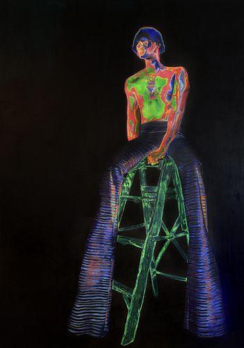 Marla McLeod, MFA '20, Colored III